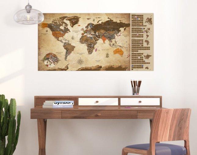 Χάρτες τύπου «ξυστό»